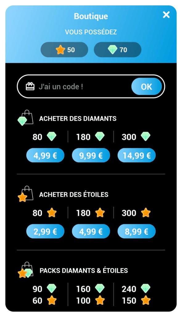 Boutique de l'application Quaestyo