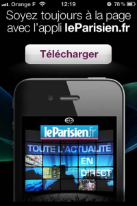 interstitiel application iPhone