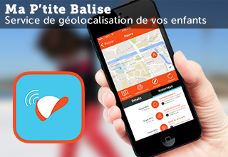 Applications iOS et Android Ma P'tite Balise