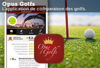 lien menant à la fiche de l'application mobile opusgolfs