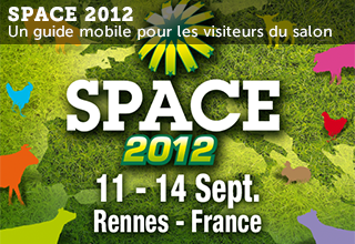 SPACE 2012, application iPhone et Android