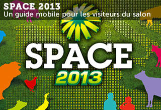 Application iPhone et Android SPACE 2013
