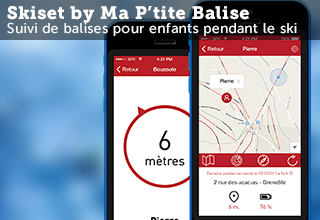 Applications iOS et Android Skiset by Ma P'tite Balise