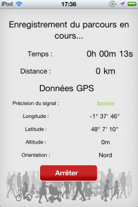 chrono rennes flow application iPhone