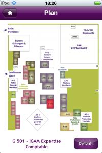 Plan interactif JRCE