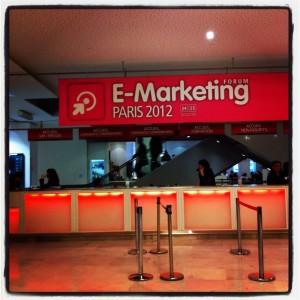 Forum du e-marketing 2012, Paris