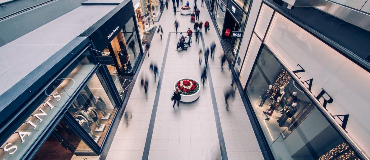 commerce et galerie commerciale