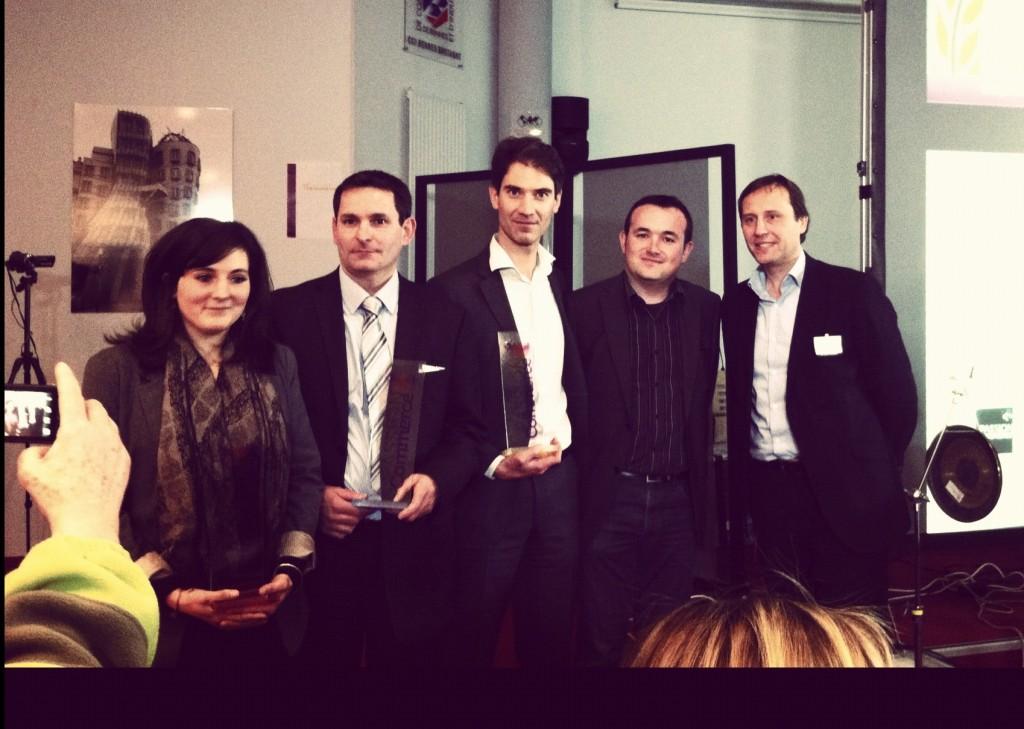 Mobizel et Dolmen remporte le Trophée passion commerce