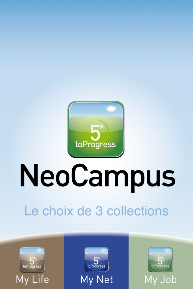 Portail Neocampus application iPhone