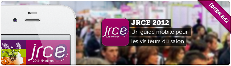 application iPhone et Android JRCE 2012