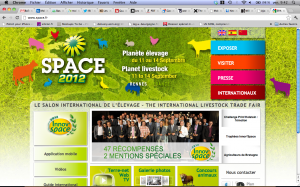 site internet du SPACE