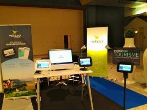 Forum Tourisme Deauville - stand Mobizel