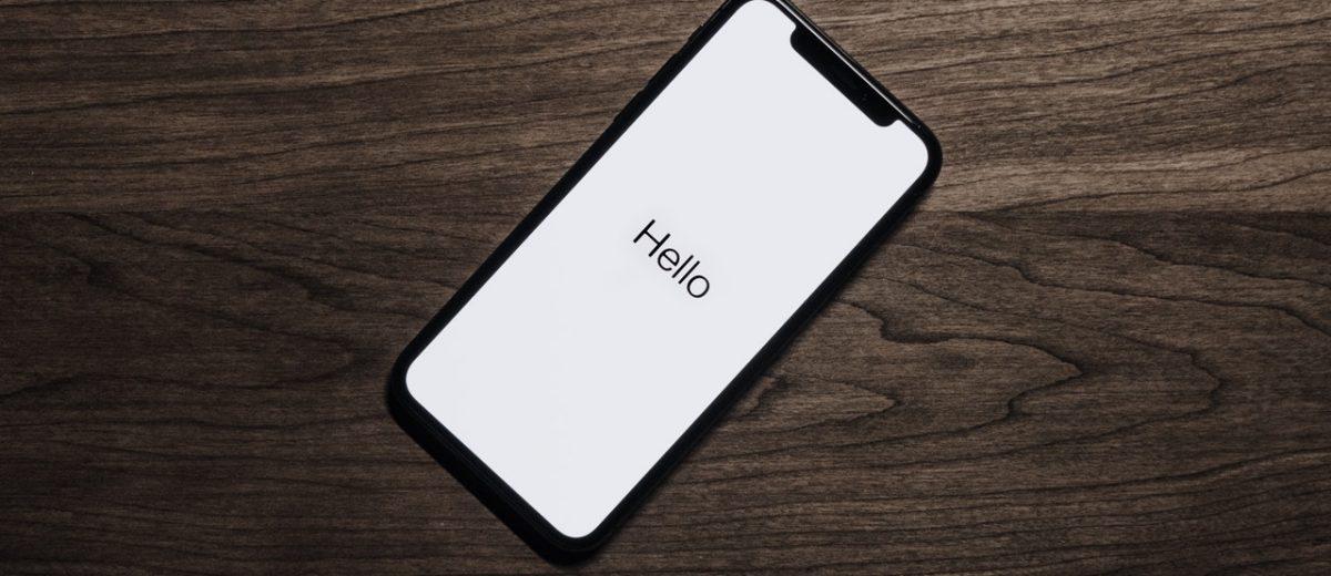 Smartphone - Hello