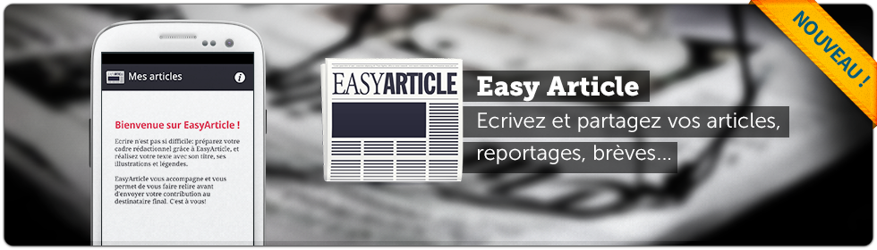 Application Android Easyarticle