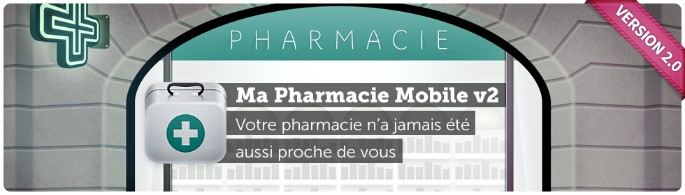 Application iPhone et Android Ma Pharmacie Mobile
