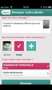 ordonnance application iPhone Ma Pharmacie Mobile