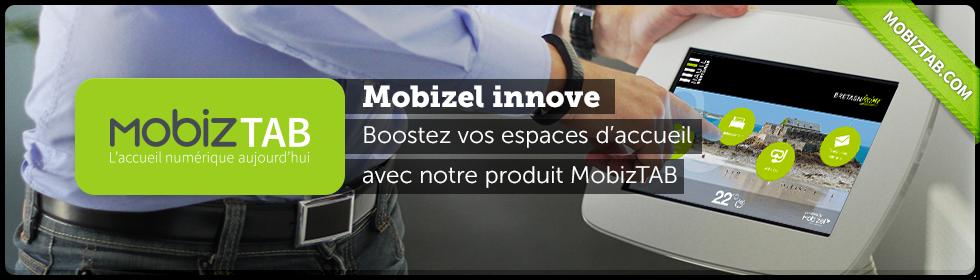 MobizTAB - Accueil numérique tablettes tactiles