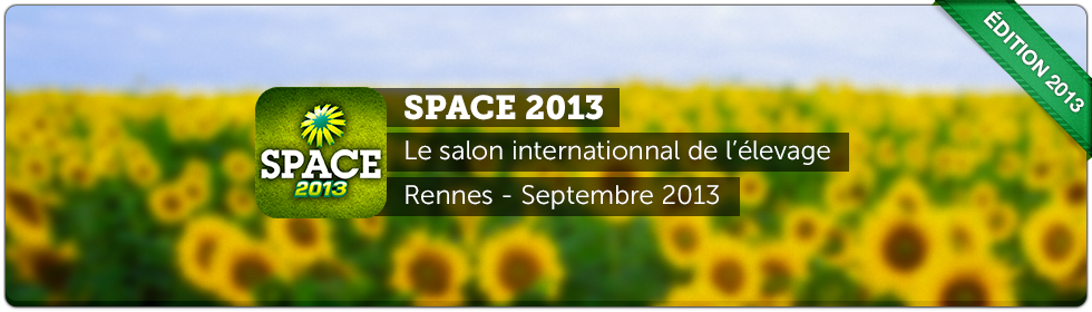 Application iPhone et application Android SPACE 2013
