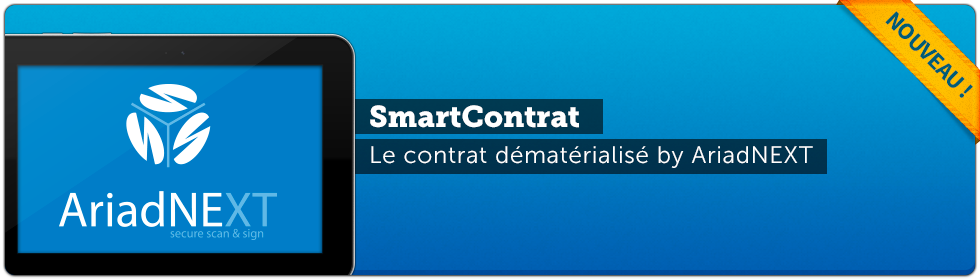 Application tablette tactile SmartContrat
