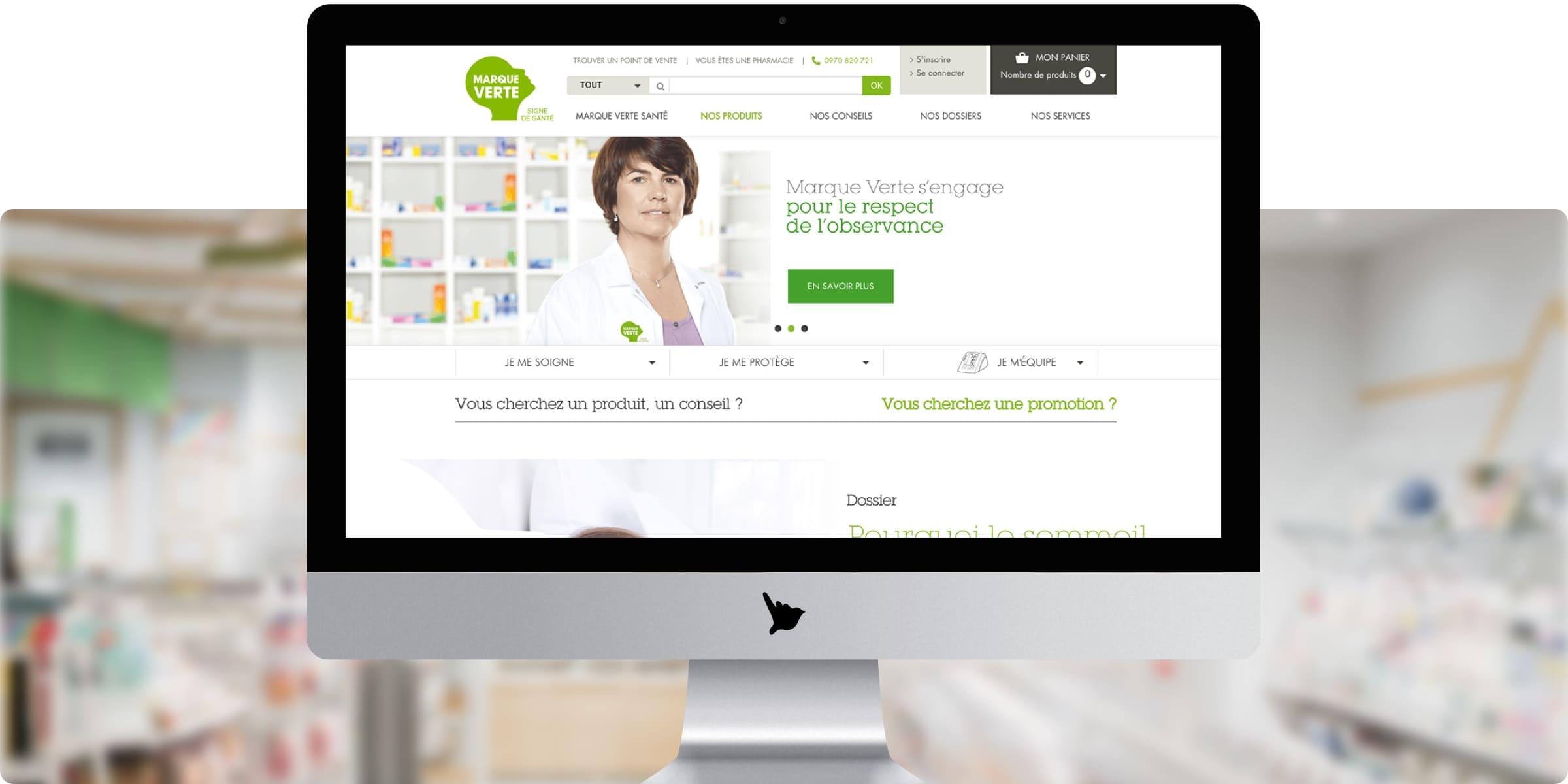 Site web Marque Verte