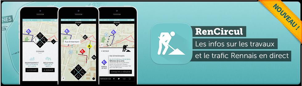 Application mobile RenCircul