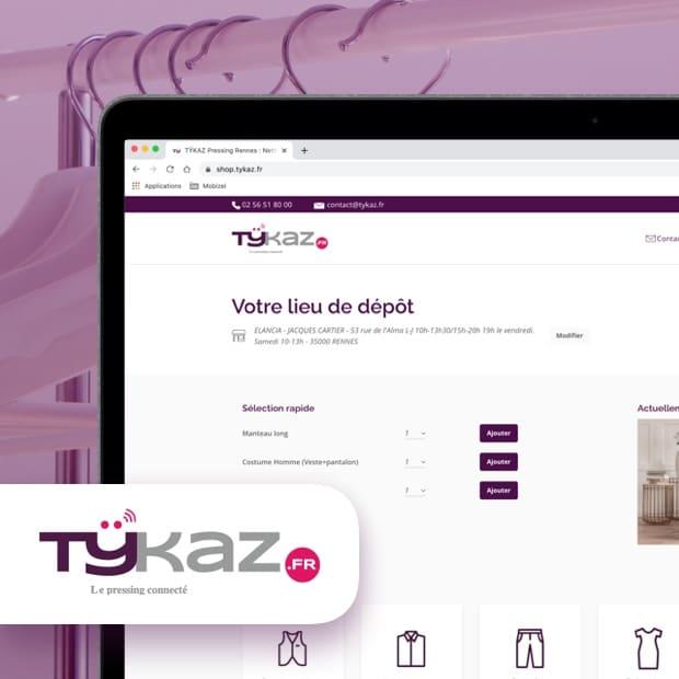 Site web Tykaz