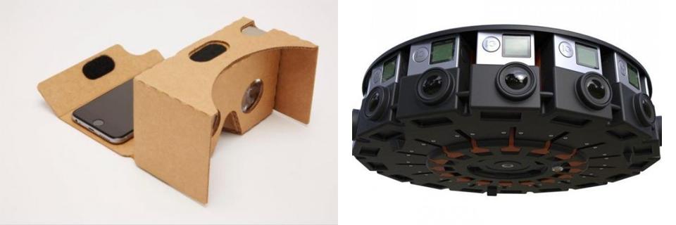 Cardboard 2.0 et JUMP
