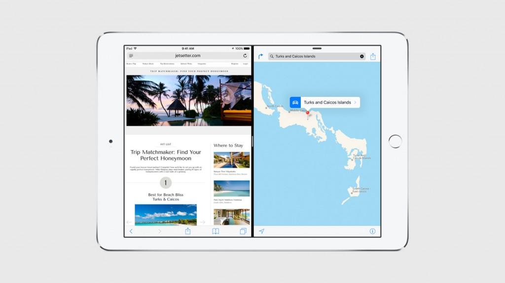 iPad écran divisé