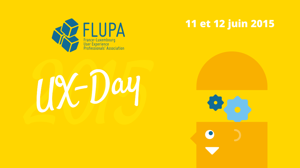 mascotte flupa ux day 2015