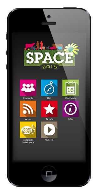 application mobile space 2015