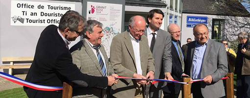 Inauguration du Granit Rose Tour