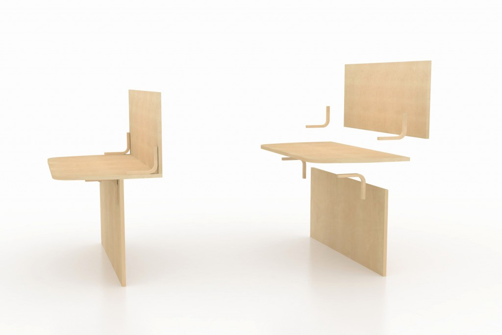 STAND 3D table basse