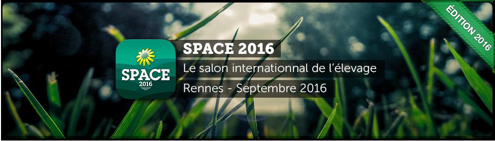 bannière SPACE 2016