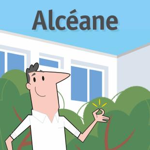 Site web Alcéane (office HLM du Havre)