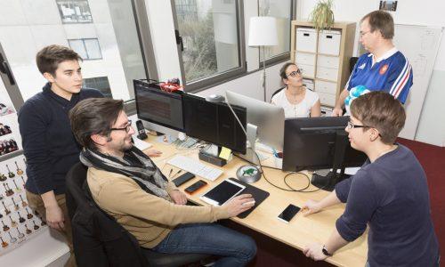 Equipe web et mobile Mobizel