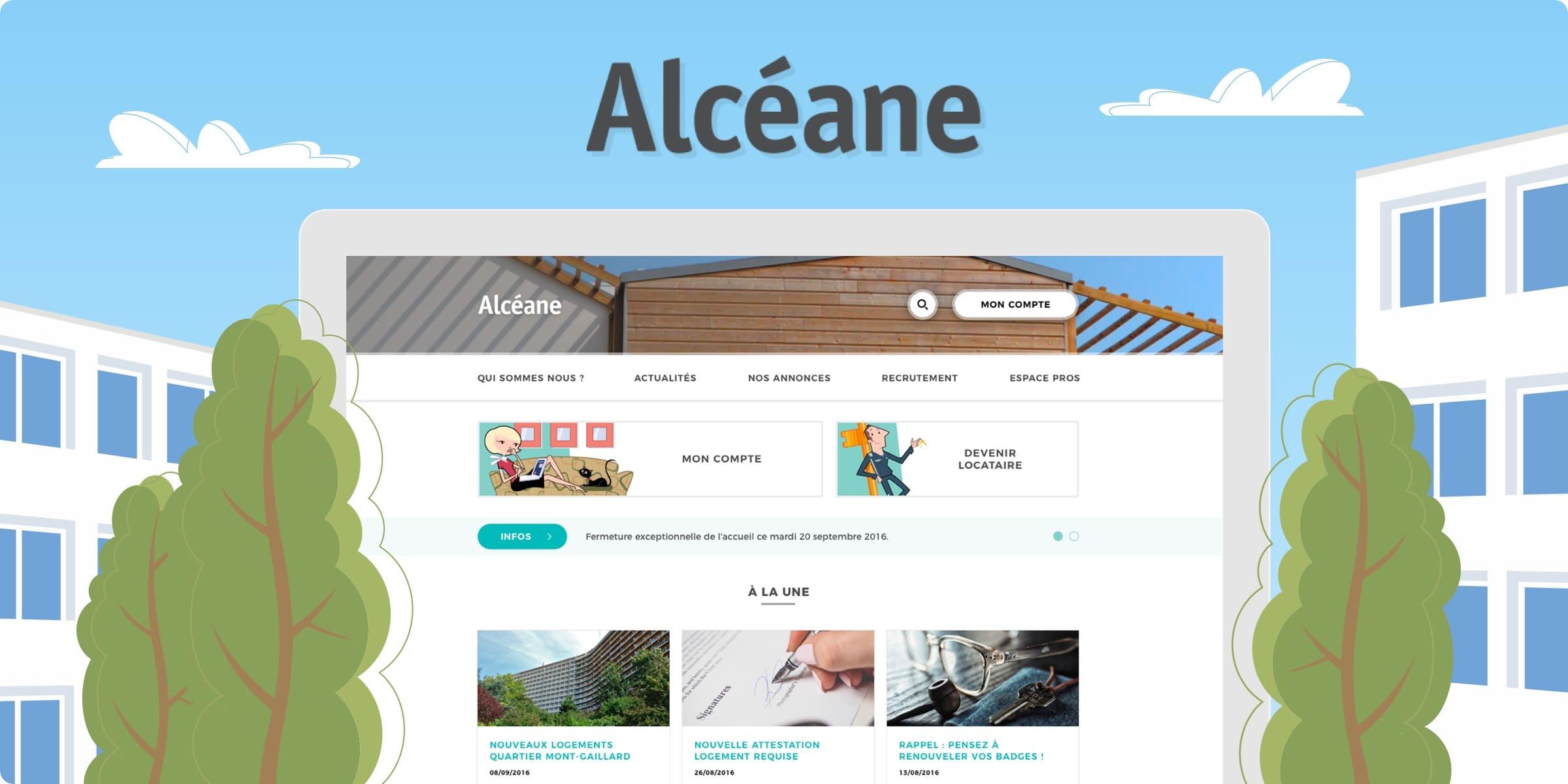 Site web Alcéane