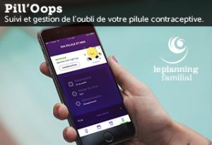 Application mobile Pilloops pour le Planning Familial