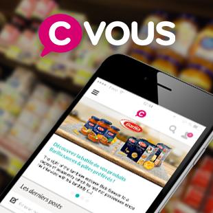 Appli cVous Groupe Casino