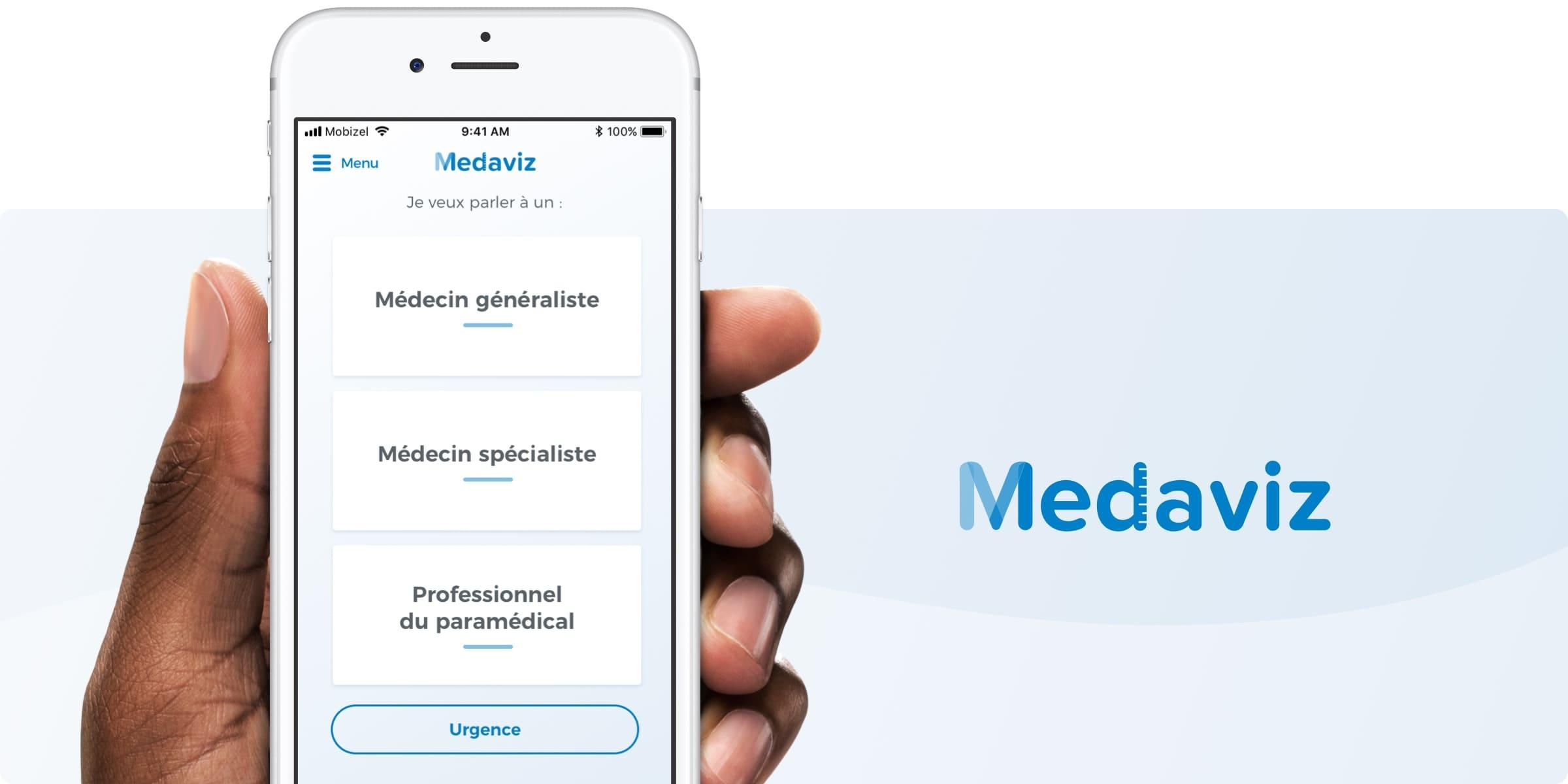 Application téléconsultation Medaviz