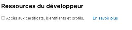 Ressources développeur de l'App Store