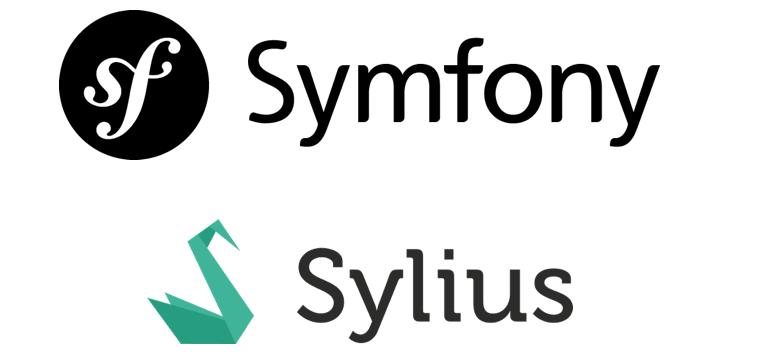 Logo Symfony et Logo Sylius