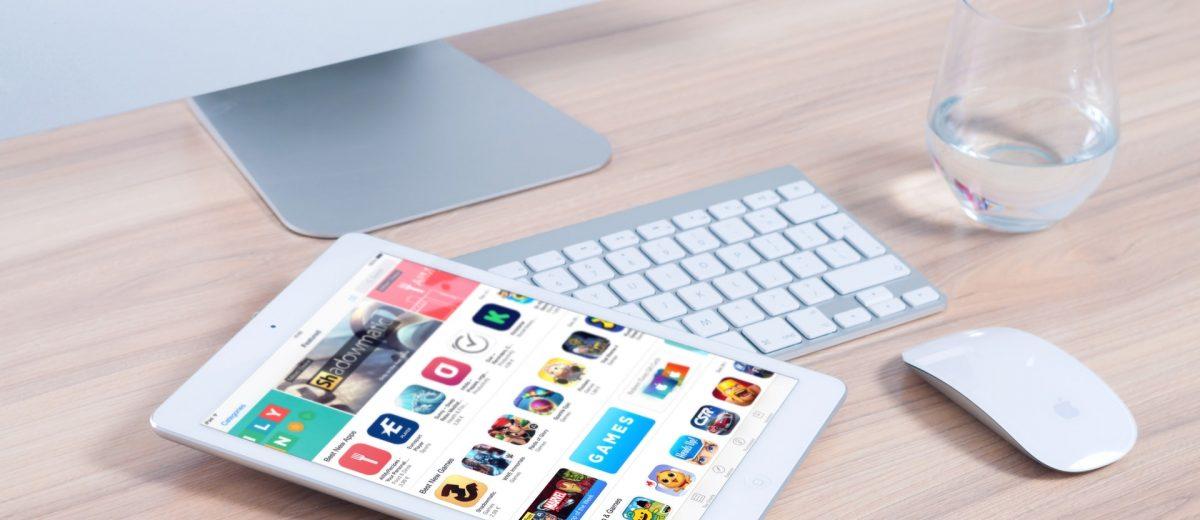 App store sur tablette ipad
