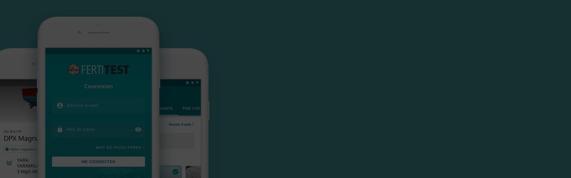 App Fertitest iOS, Androi et web - Sulky Burel